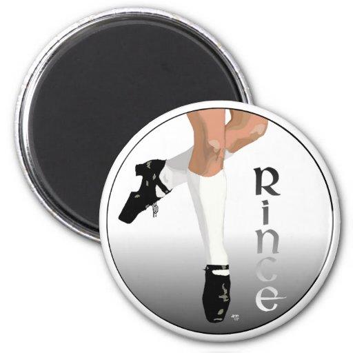 Irish Step Dancer - Hard Shoe - Rince Magnets