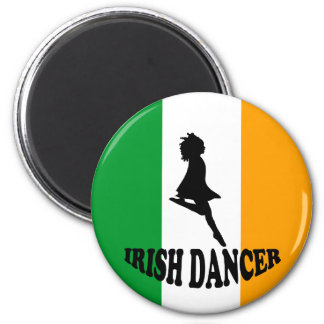 Irish Step Dancer Fridge Magnet