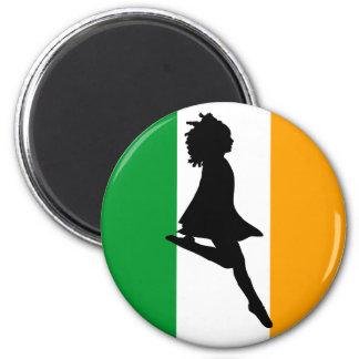 Irish Step Dancer Fridge Magnets