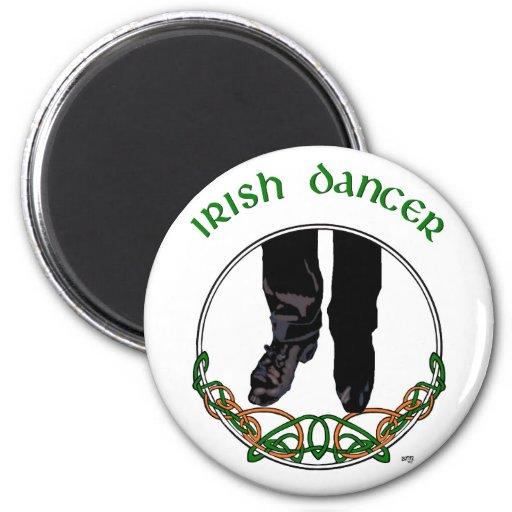 Irish Step Dancer - Male Fridge Magnet