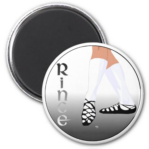 Irish Step Dancer - Soft Shoe - Rince Fridge Magnets