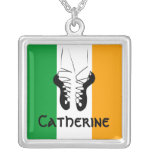 Irish Step Dancing Necklace