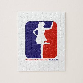 Irish Stepdance rock Jigsaw Puzzles