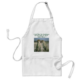 Irish Stew funny shirts and irish humour gifts Apron