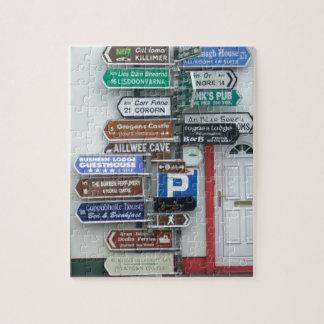 Irish Street Signs Jigsaw Puzzles