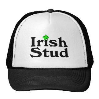 Irish Stud Clover Cap