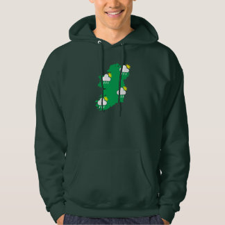 Irish Summer Men's Basic Hooded Sweatshirt
