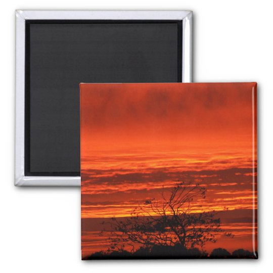 Irish Sunset, Cork, Ireland Magnet