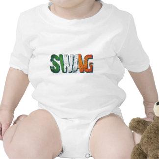 Irish Swag Baby Bodysuits