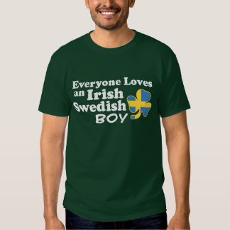 Irish Swedish Boy Tee Shirts