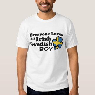Irish Swedish Boy Tshirt
