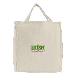 Irish Sweetheart Canvas Bags