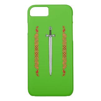 Irish Sword and Knotwork iPhone 8/7 Case