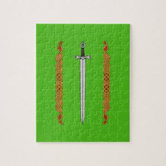 Irish Sword and Knotwork Puzzles