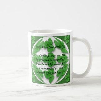 Irish Tea-Time blessing Basic White Mug