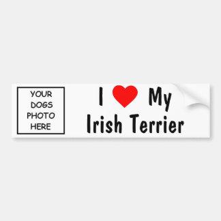 Irish Terrier Bumper Sticker