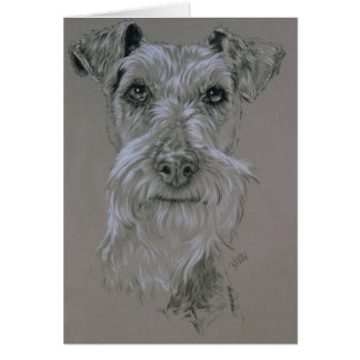 Irish Terrier Card