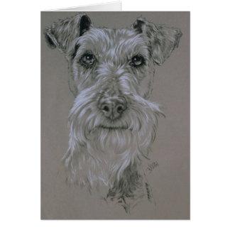 Irish Terrier Note Card