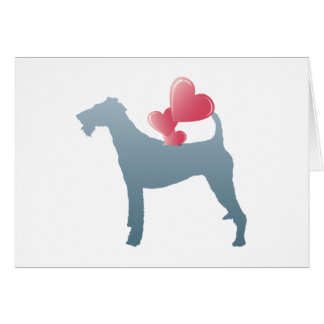 Irish Terrier Greeting Card