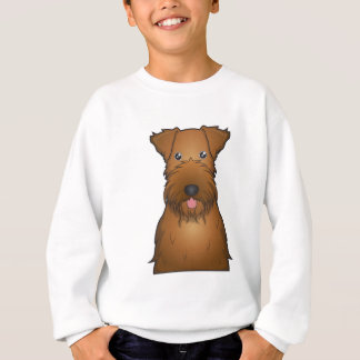 Irish Terrier Cartoon Sweatshirt