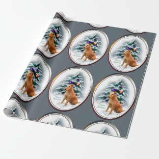 Irish Terrier Christmas Wrapping Paper