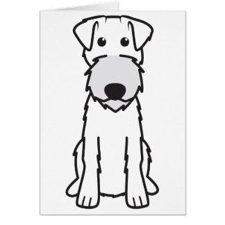 Irish Terrier Dog Cartoon Card