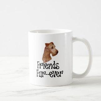 "Irish Terrier ""Friends Fur-ever"" Basic White Mug"