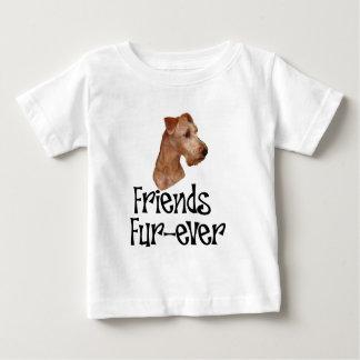 "Irish Terrier ""Friends Fur-ever"" Infant T-Shirt"