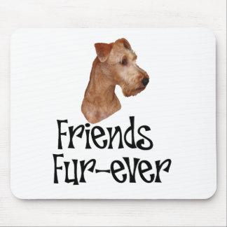 Irish Terrier Friends Fur-ever Mouse Pad