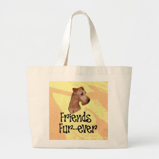 "Irish Terrier ""Friends fur more ever "" Canvas Bag"