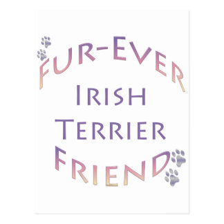 Irish Terrier Fur-ever Friend Post Card