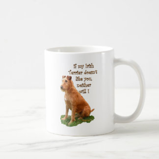 Irish Terrier Basic White Mug
