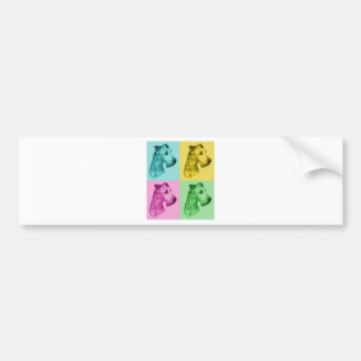 "Irish Terrier ""pop kind "" Bumper Sticker"