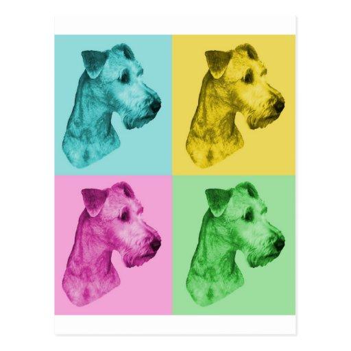 "Irish Terrier ""pop kind "" Postcards"