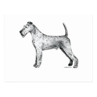Irish Terrier Post Cards
