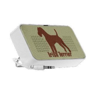 Irish Terrier Notebook Speaker