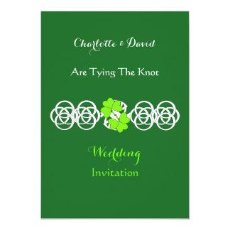 Irish Themed Wedding Party Invitations