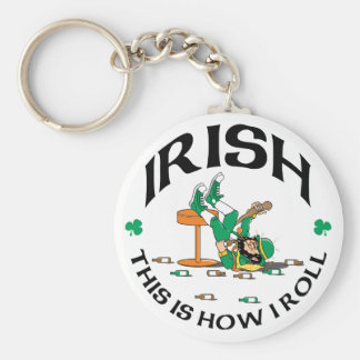 Irish This Is How I Roll Gift Keychain