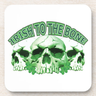 Irish to the Bone Coasters