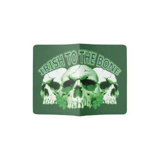 Irish to the Bone Skull Passport Holder