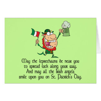 Irish Toast Greeting Card