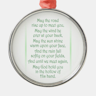 Irish Toast Christmas Ornament