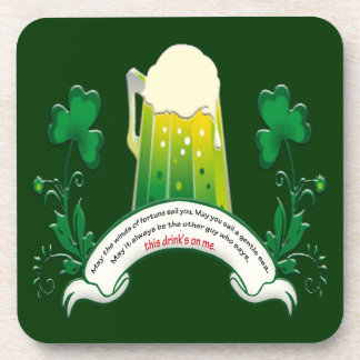 Irish Toast Coasters