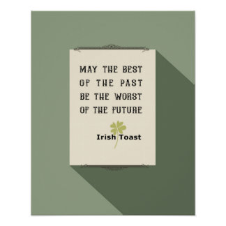 Irish Toast Poster