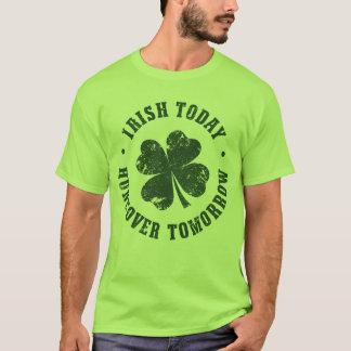 Irish Today Hangover Tomorrow T-Shirt