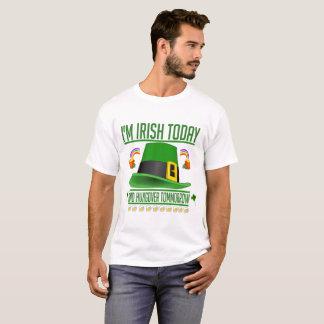 Irish Today Hungover Tomorrow St. Patrick's Shirt