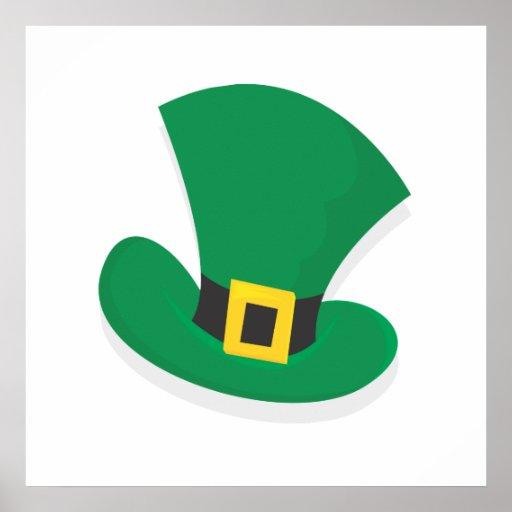 Irish Top Hat Poster