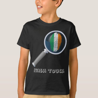 Irish touch fingerprint flag T-Shirt