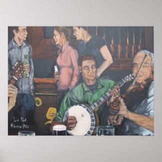 Irish Trad Poster