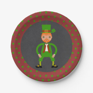 Irish Traditions Kids Birthday Party Paper Plate